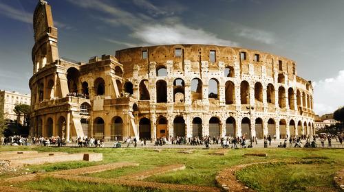 Colosseum taly rome landscape