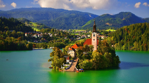Lake bled wallpapers 11