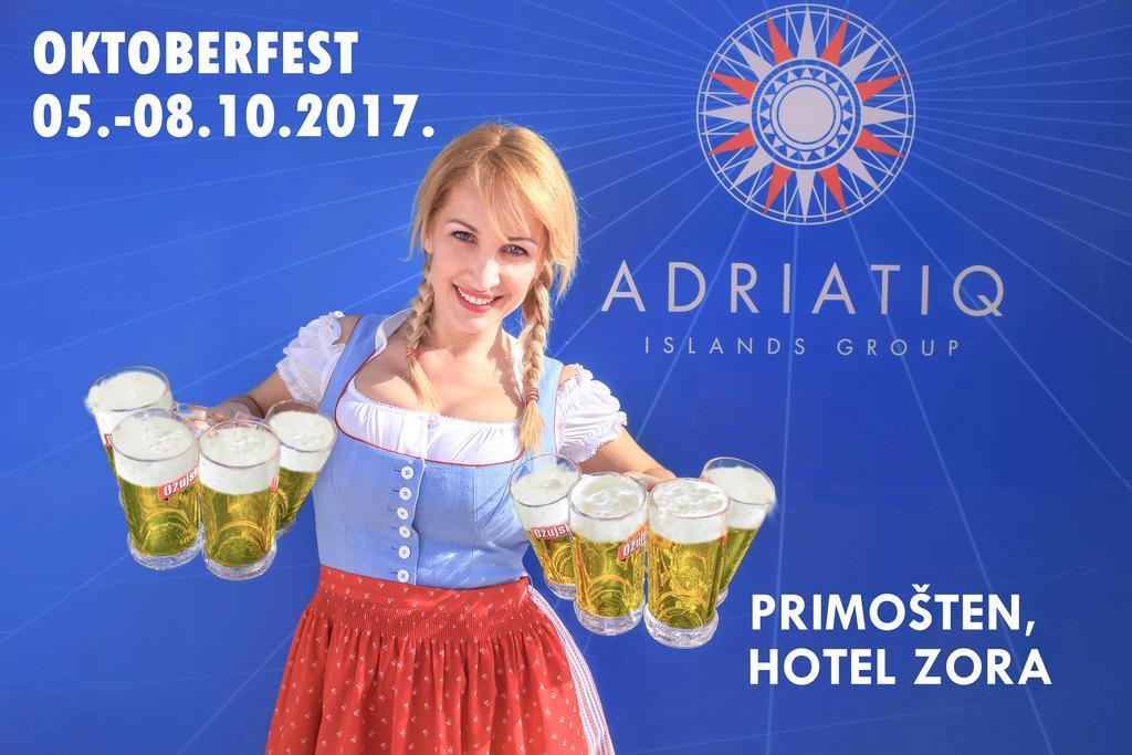 OKTOBERFEST U ADRIATIQ HOTELU ZORA, Primošten, Hrvatska – 929 HRK – 2x noćenje u dvokrevetnoj Comfort sobi za 2 osobe, 2x polupansion za 2 osobe