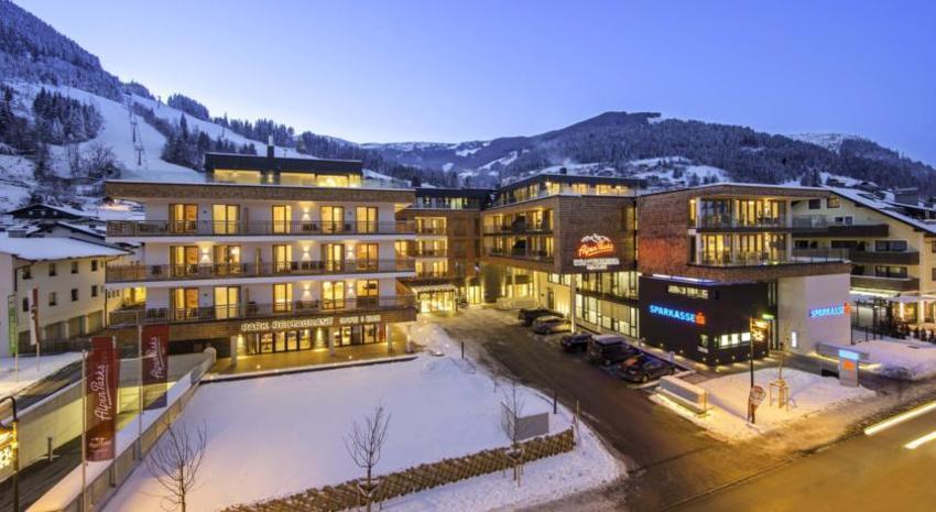 HOTEL ALPEN PARKS – SKI OPENING , Zell am See, Austrija – 1.990 HRK – 3x noćenje u studio apartmanu (za 4 osobe) ili standard apartmanu (za 6 osoba) za 1 osobu*, 3-dnevna skijaška karta za 1 osobu